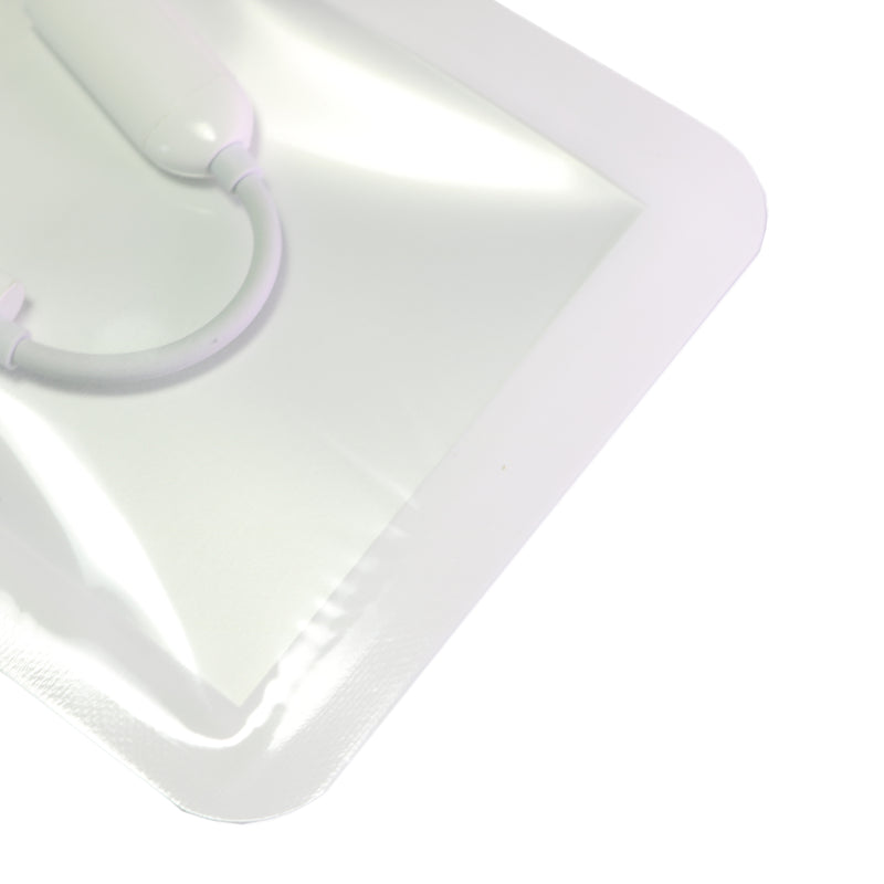 QQ Studio® Half Pearl White QuickQlick™ Bags with Rounded Corners and Butterfly Hang Hole
