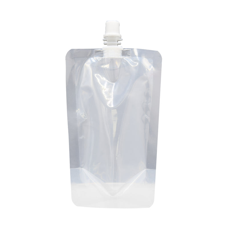 Glossy Plastic Stand Pouch with Top Screw Cap Spout