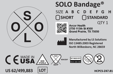 Load image into Gallery viewer, SOLO Bandage® (Box of 12)
