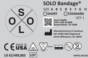 SOLO Bandage® (Box of 12)