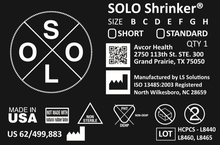 SOLO Shrinker® (Box of 12)