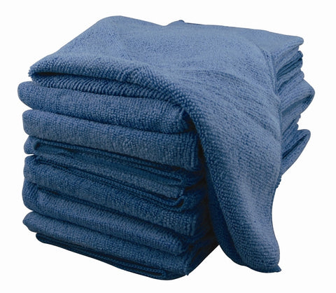 Microfiber Cloth 25 pack (BLUE)