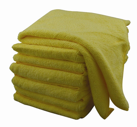 Microfiber Cloth 25 pack (YELLOW)