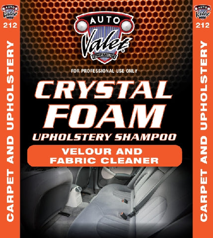 Crystal Foam Interior Shampoo