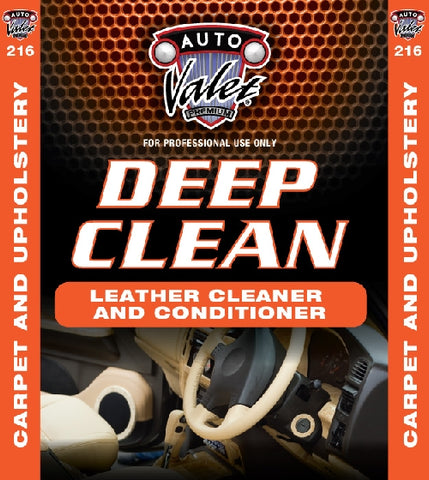 Deep Clean Leather Cleaner