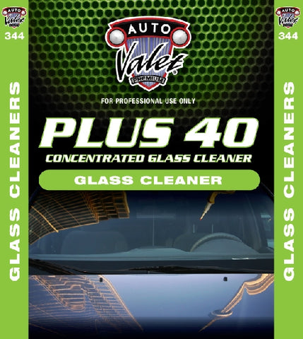 Plus 40 Glass Cleaner (concentrate)