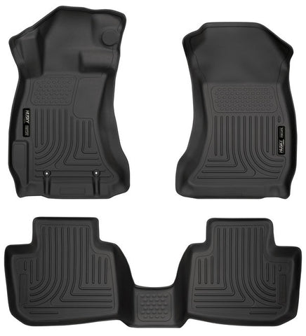 Subaru Crosstrek - Husky WeatherBeater Digital-Fit Floor Liner