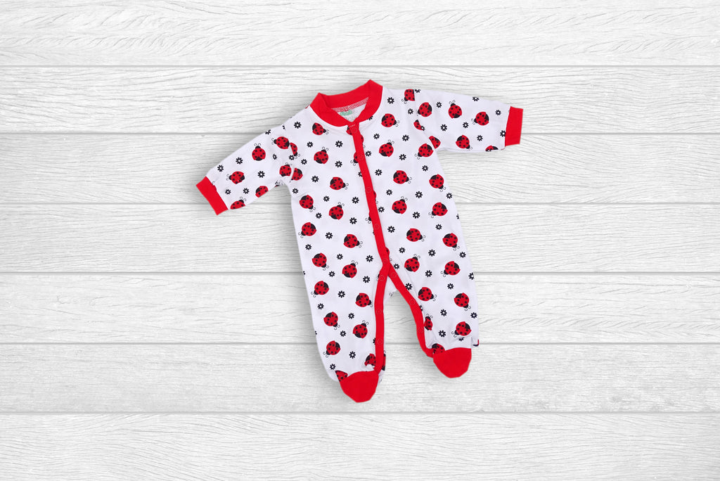 Babygrow with LadyBugs