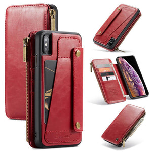 Business Zipper Wallet Case For iPhone(50% OFF)