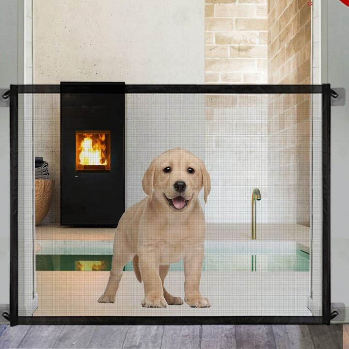Pet & Kids Safety Mesh Gate - Boonsack