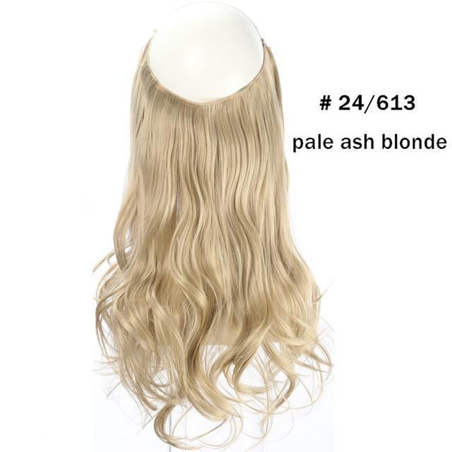 Wave Halo Hair Extensions Wigs