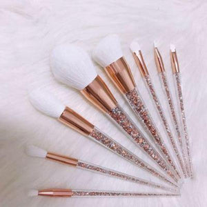 Makeup Brush Set 8pcs - Makeup Brush Kit