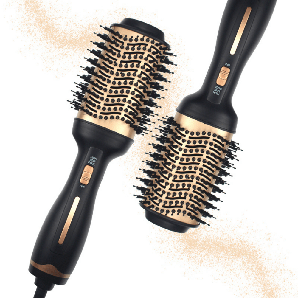 2-in-1 Hair Dryer & Volumizer Hot Air Brush