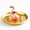 Flamingo Ceramic Jewellery Plate Home Decor