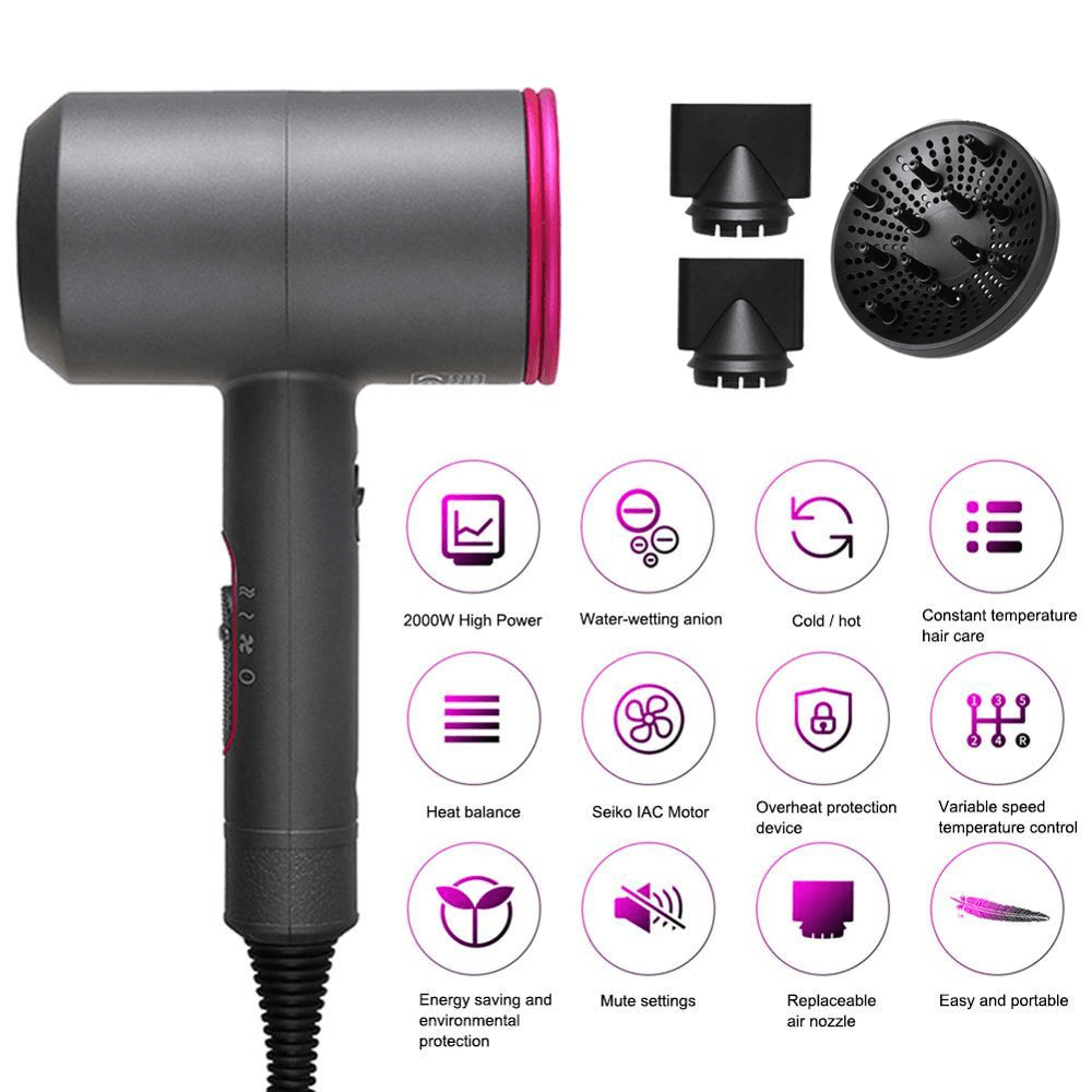 Professional Blow dryer and its benefits for your hair.