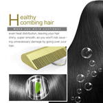 Titanium Hair Straightener offers even heat distribution, leaving the hair shiny, super smooth and reduces damage.
