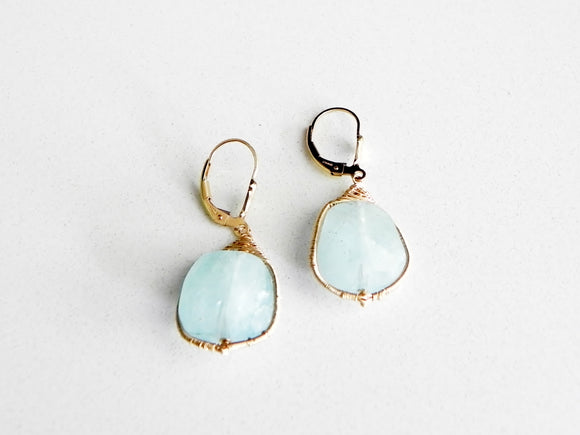 Aqua Marine Mystique Earrings