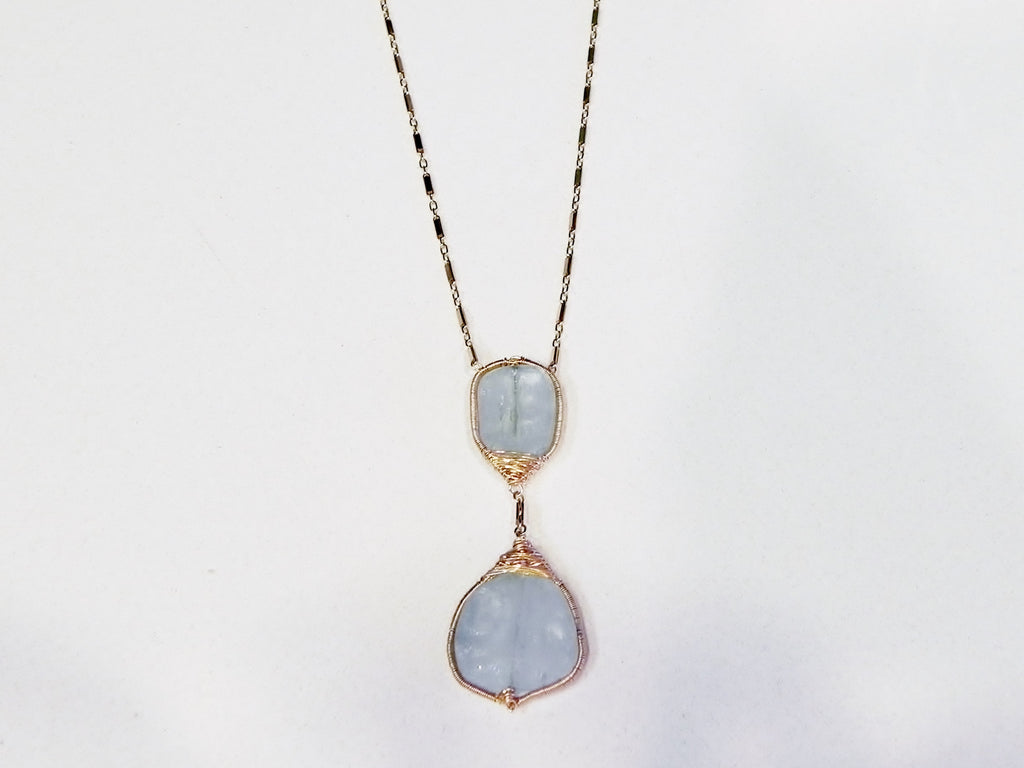 Aqua Marine Mystique Necklace