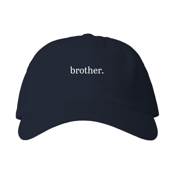 brother. Dad Hat - White