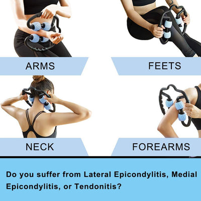 NeedRelieve Trigger Point Roller Massager