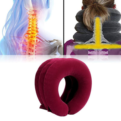 NEEDRELIEVE CERVICAL NECK TRACTION DEVICE