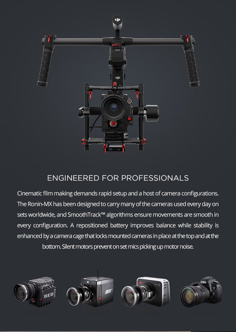 Ronin MX Engineered for Professionals