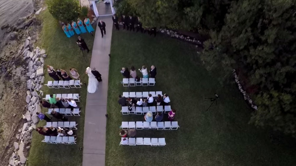 The Best Camera Drone for Wedding