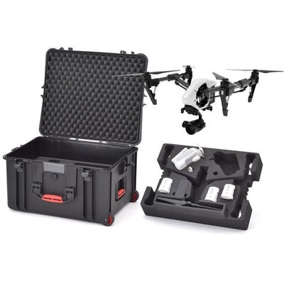 HPRC 730WINSPRO Wheeled Hard Case with Foam for DJI Inspire 1 / Pro