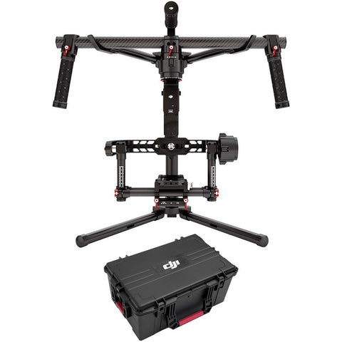 DJI Ronin 3-Axis Stabilized Video Camera Gimbal (Black) + Hard Case