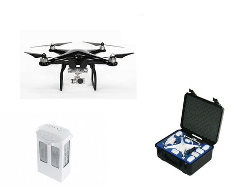 Carbon Fiber DJI Phantom 4 Drones Etc. Bundle