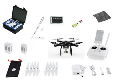 Carbon Fiber Phantom 4 EVERYTHING YOU NEED KIT