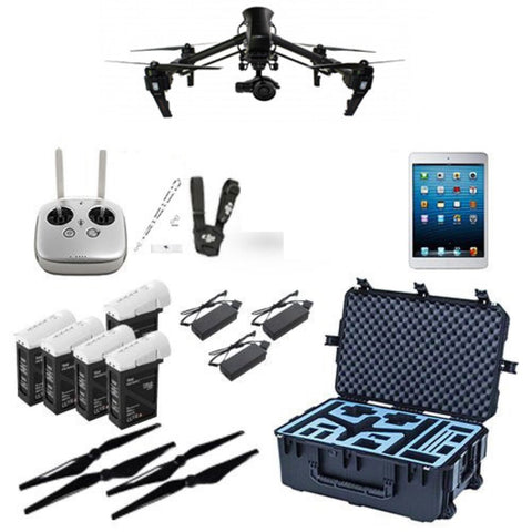 Carbon Fiber DJI Inspire 1 Pro Production Bundle (Single Operator)