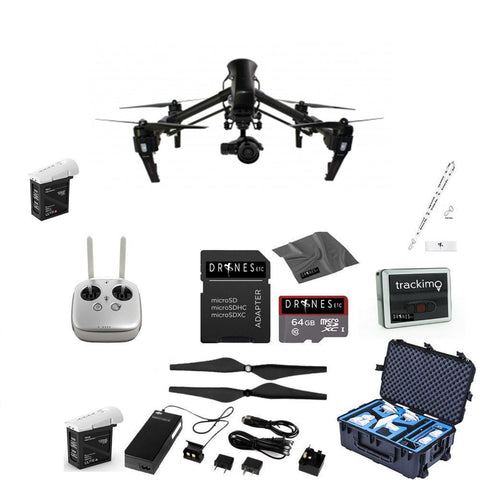 CARBON FIBER DJI Inspire 1 Pro with Remote EVERYTHING YOU NEED Kit
