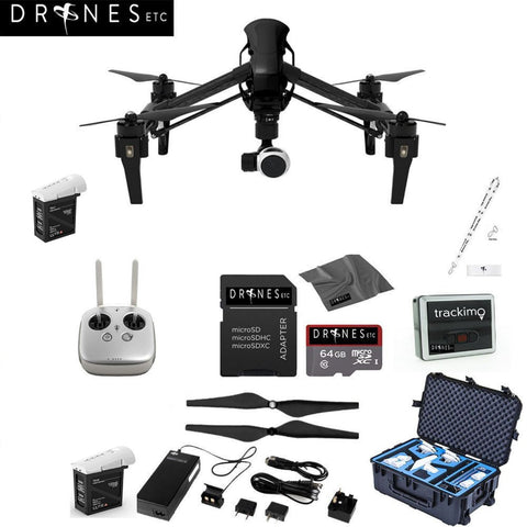 CARBON FIBER DJI Inspire 1 V2.0 with Remote EVERYTHING YOU NEED Kit