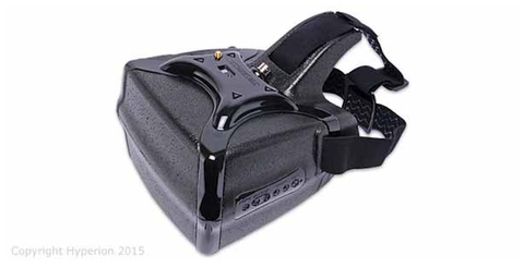 HEADPLAY HD HEADSET FPV GOGGLES WITH 1300 MAH HV LIPO BATTERY