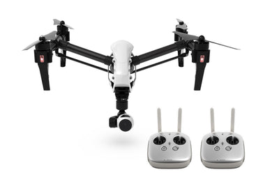 DJI Inspire 1 V2.0 Dual Remotes - Includes FREE Hard Case