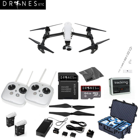 Inspire 1 V2.0 with Dual Remotes Bundle with Go Professional Hard Case