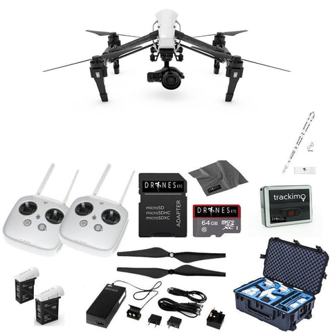Inspire 1 Pro with Dual Remotes EVERYTHING YOU NEED Kit