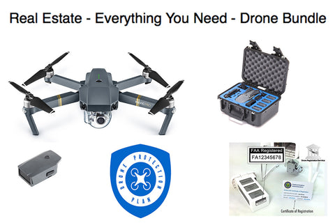 Mavic Pro Platinum Everything You Need Real Estate Bundle