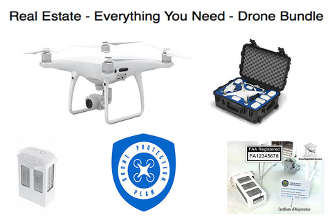 Phantom 4 Pro Everything You Need Real Estate Bundle