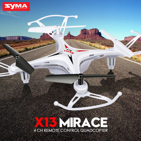 Syma X13 RC Mini Drone in Black or Red