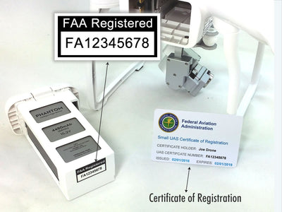 Bundle – Label + Registration Certificate Card (For Hobbyist Only)