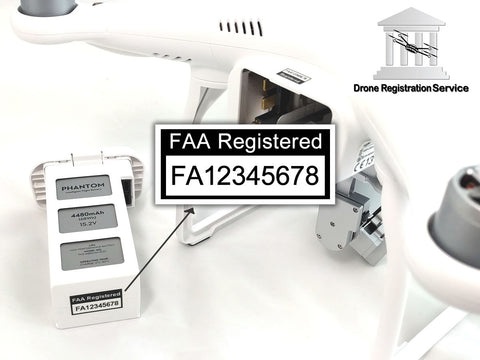 Drone Registration and Label Bundle (For Hobbyist Only)