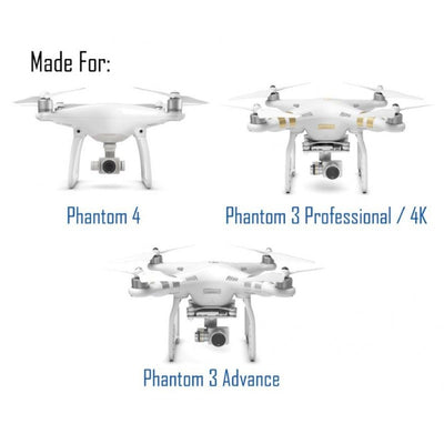 DJI PHANTOM 4 / PHANTOM 3 HYBRID FILTER 3-PACK (4K SERIES)