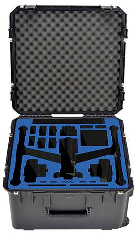 Go Professional Hard Case for the DJI Inspire 2 -Travel Mode