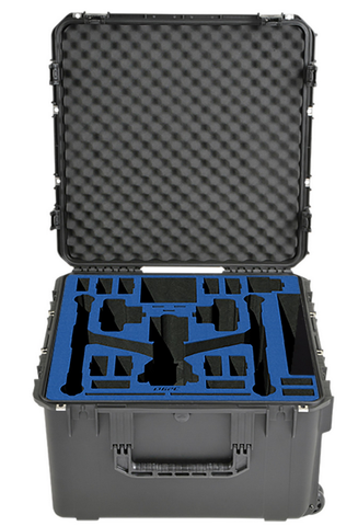 Go Professional Hard Case for DJI Inspire 2 - Landing Mode