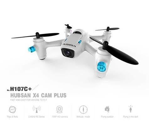 HICH107C+ - Hubsan 2nd Generation X4 Quad w/HD Camera, 2.4GHz