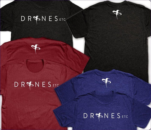 Drones Etc. T-Shirt with Logo
