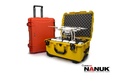 NANUK 950 DJI Phantom 3 Wheeled Hard Case
