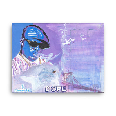 Biggie Dope Canvas